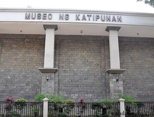 The façade of Museo ng Katipunan