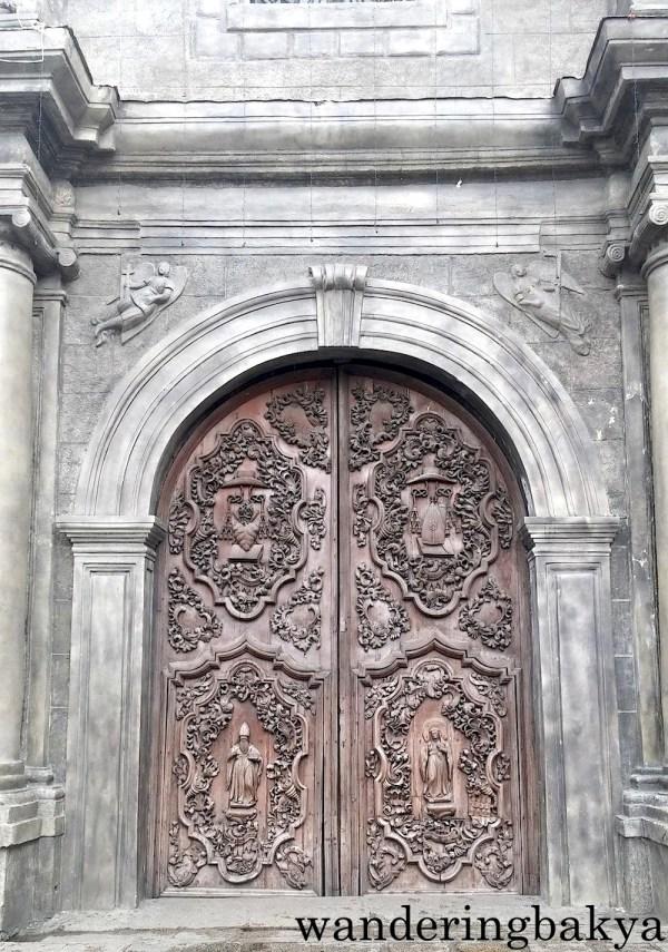 Door of San Agustin Church