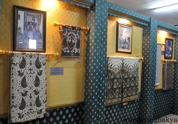 Batik motif found inside the Batik museum in Kraton Sultan Palace.