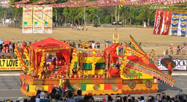 The float of Sagayan Festival of Maguindanao
