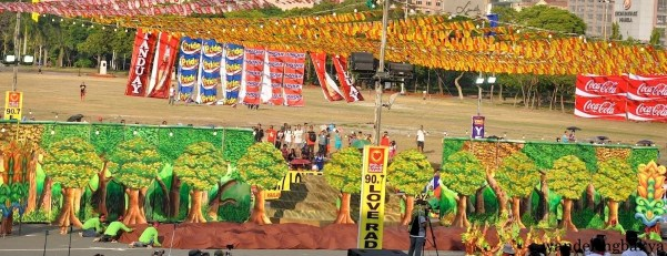 Mayaw-Mayaw Festival of Pinabacdao, Samar. This was one of the favorites to win the grand prize at Aliwan Fiesta 2015.