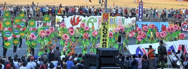 The Halamanan Festival has its own share of flowers as its name implies