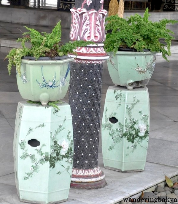 Chinese jars found in Kraton Sultan Palace