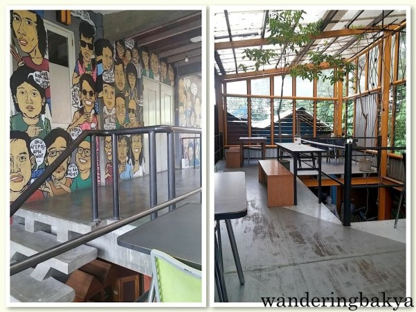 Restoran Kedai Kebun's second floor.