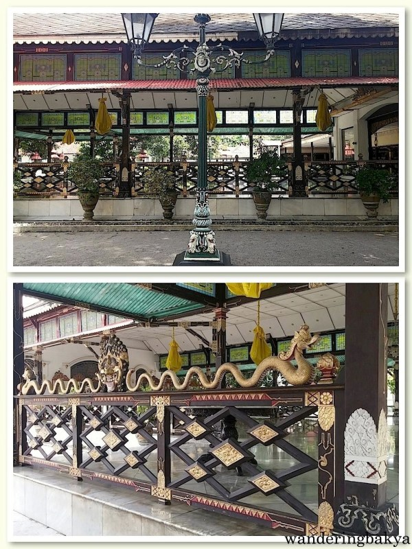 One of the pavilions in Kraton complex