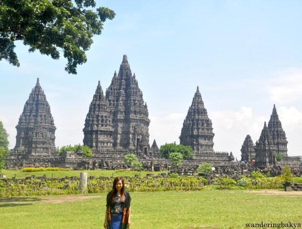 Prambanan temples and I
