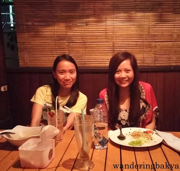 After dinner at Raminten Resto and Cabaret Show