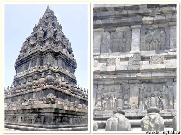 One of the main temples found in the inner area of Candi Prambanan complex.  It is accompanied by the meticulously-designed details found on its facade.
