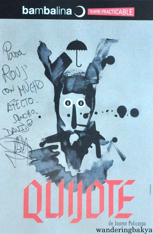The autograph of David Durán or Sancho Panza. My name is Rous in Spanish. :)