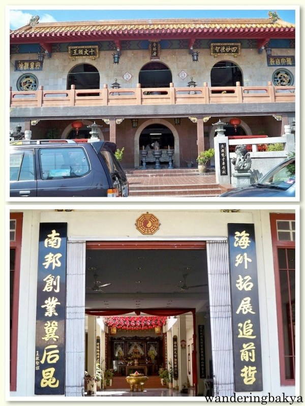 Chinese temples found along Jonker Walk
