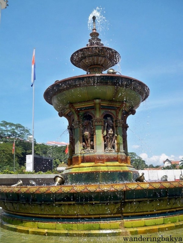 Victoria Fountain at Detaran Merdeka is built for the Diamond Jubilee of England's Queen Victoria.