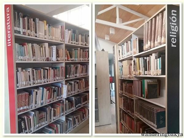 Miguel Hernández Library's books on Historia y Crítica Literaria and Ciencias Sociales.