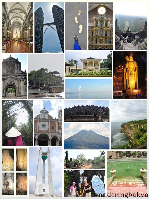 These are some of the places I have visited.