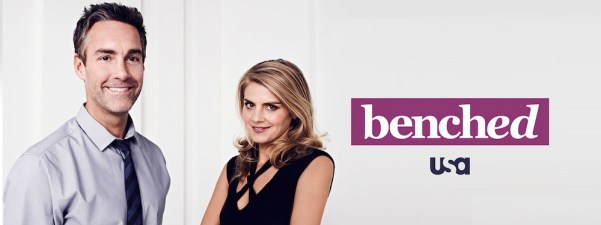 Promotional material of USA Network's Benched. Photo from gossiptv.com.