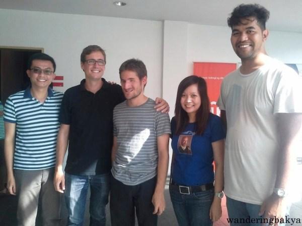 Rainier, Juan Manuel, Sergio, Me, and Gem. Photo by SPRDC.
