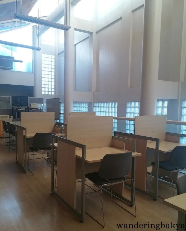 Inside the ICM Miguel Hernández Library, our home this level.