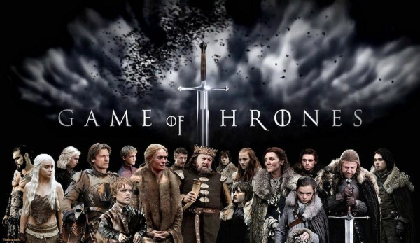 HBO's Game of Thrones characters. Photo from sourcefed.com