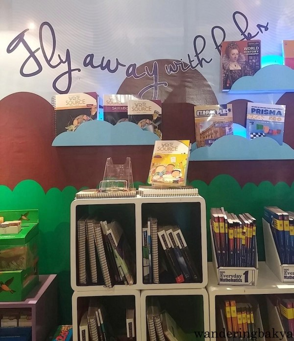 """I think Abiva is right, one can really """"fly away with books""""."""
