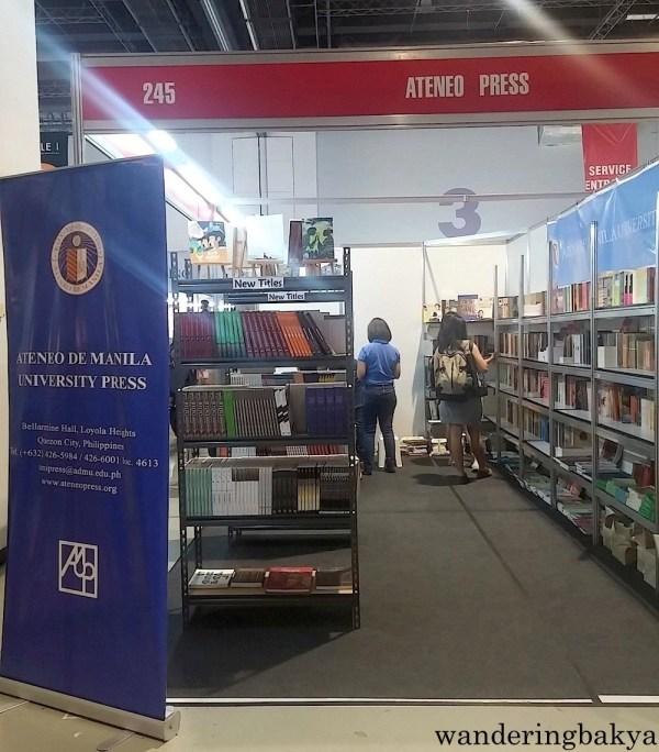 Ateneo Press at The 36th MIBF.