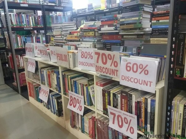 Books at The 36th MIBF had huge discounts.
