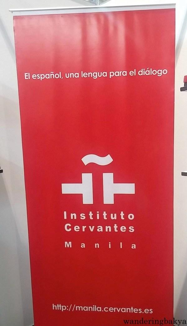 Instituto Cervantes Manila booth at The 36th Manila International Book Fair.