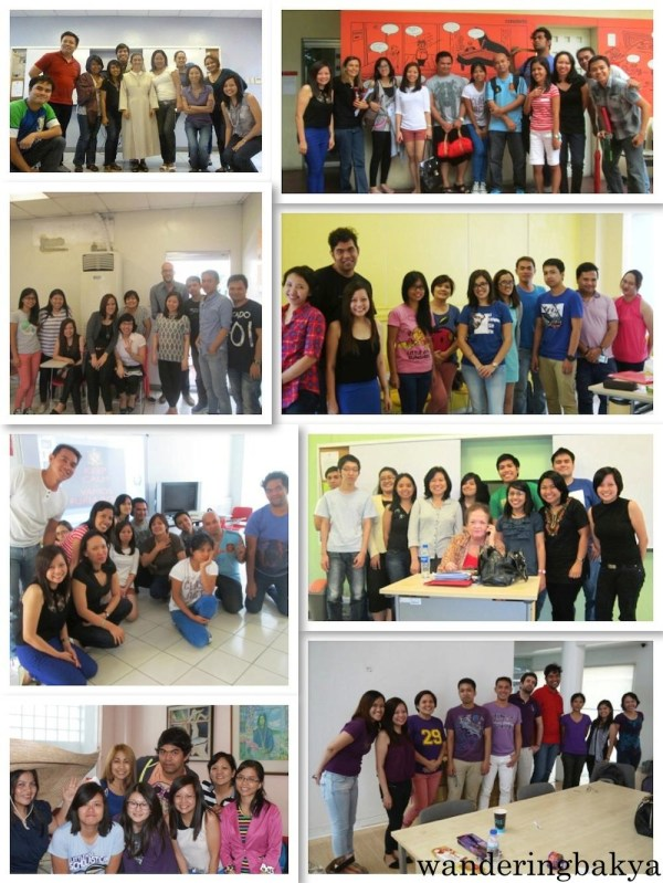 Some of the photos taken during my almost six years of stay at Instituto Cervantes Manila. Photos by SPRDC and David.