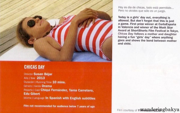 Chicas Day directed by Susan Béjar (10 minutes)