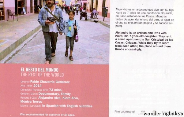 Summary and other details of El Resto Del Mundo (The Rest of the World) by Pablo Chavarría Gutiérrez