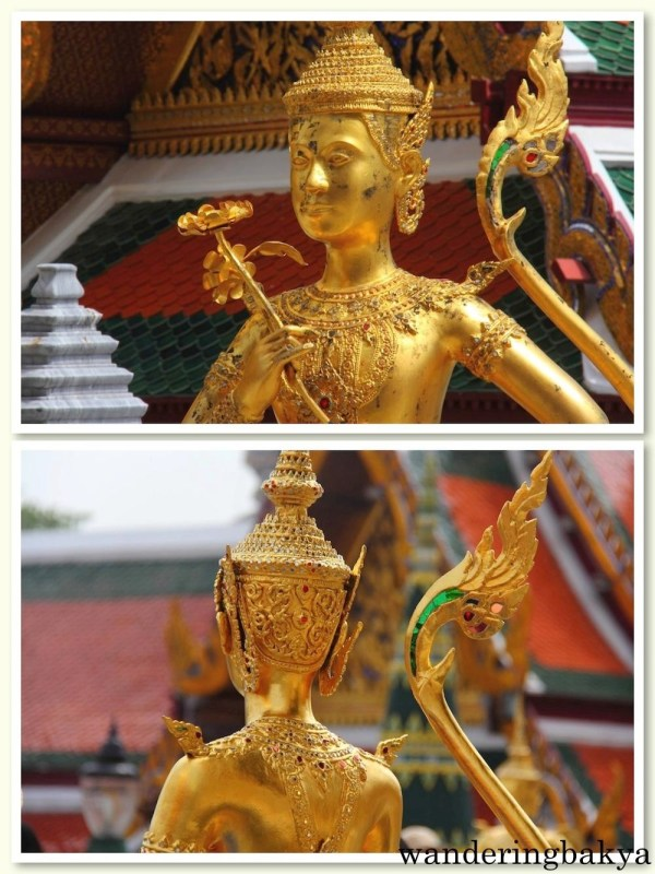 One of the images inside The Grand Palace Complex