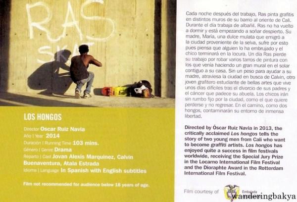 Los Hongos directed by Oscar Ruiz Navia, 2014
