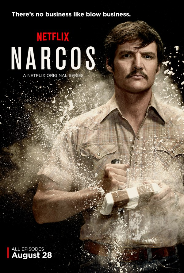 Pedro Pascal as DEA agent Javier Peña. He is my favorite character on Narcos. Photo from nerdist.com.