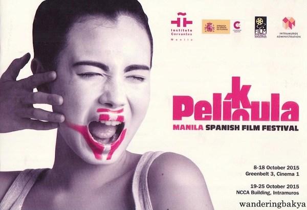 Instituto Cervantes Manila's PELÍCULA 2015 Manila Spanish Film Festival