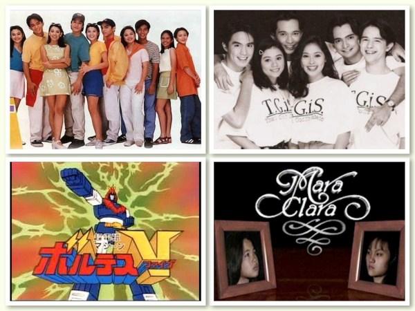 Favorite shows of Batang 90s