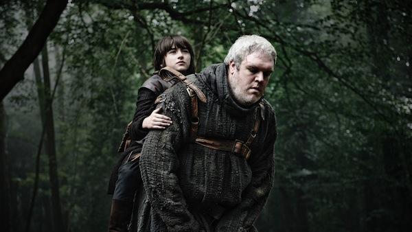 Game of Thrones' Bran Stark and Hodor. Photo from followingthenerd.com