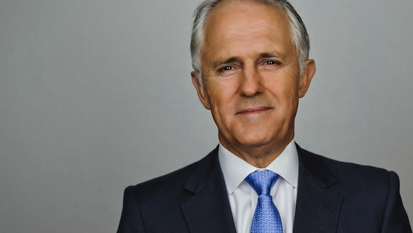 Australian Prime Minister Malcolm Turnbull. Photo from thelaborherald.com