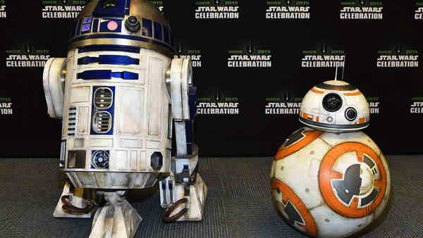 Star Wars: The Force Awakens' R2-D2 and BB-8. They are most adorable twosome. :) Photo from boards.theforce.net