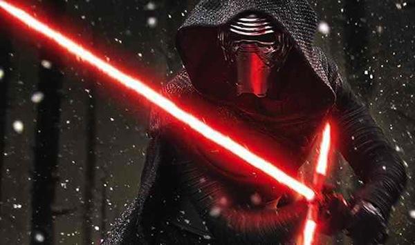 Star Wars: The Force Awakens' Kylo Ren (Adam Driver). Photo from comingsoon.net
