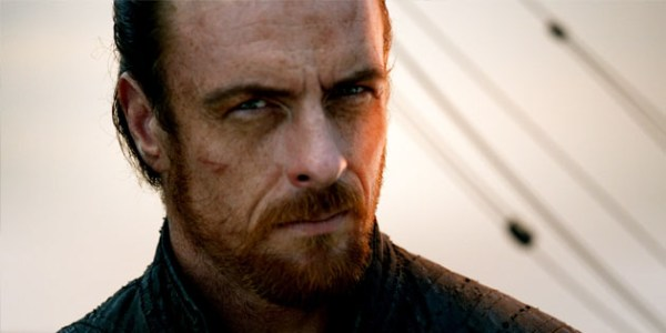 Black Sails' Captain James Flint. Photo from starz.com