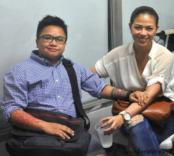Aiza Seguerra and Liza Diño at MRRD NECC National Headquarters