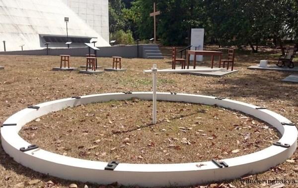 An examen clock is part of Contemplatio. Photo by SPRDC