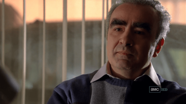 Walter White's boss, Bogdan, and his eyebrows. Photo from wikia.com