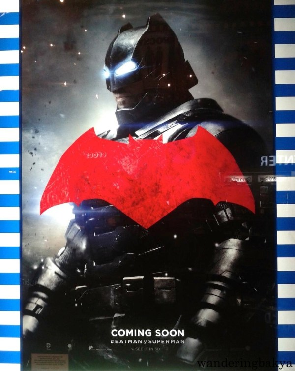 Poster of Batman v Superman: Dawn of Justice's Batman (Ben Affleck).