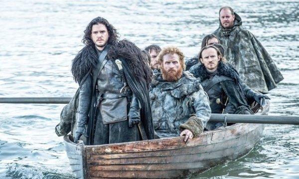 Jon Snow (Kit Harington) led his Night's Watch brothers and Tormund Giantsbane (Kristofer Hivju) to Hardhome. Photo from theguardian.com