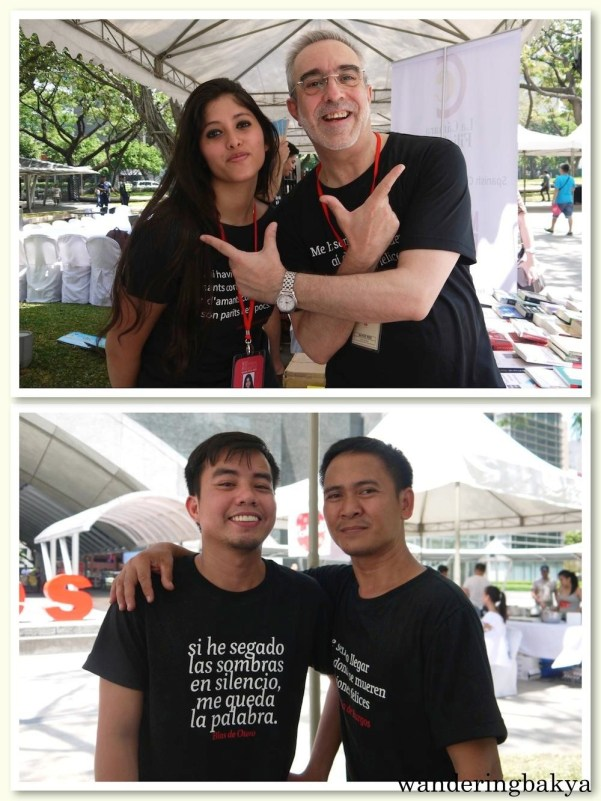 Cristina and Manolo (top) and Jeff and Elmo (bottom) never lost their smiles throughout the super hot day. Photos by SPRDC.