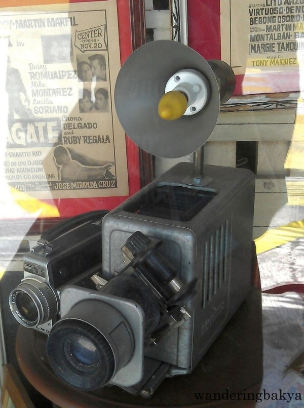 Also on display, what I presume to be an ancient camera