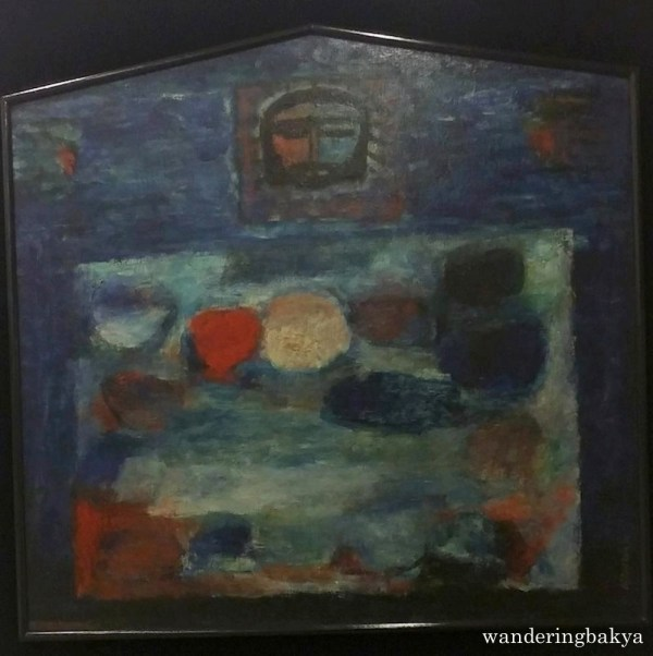 Last Supper, 1966 (Oil on wood). Collection of Paulino and Hetty Que.