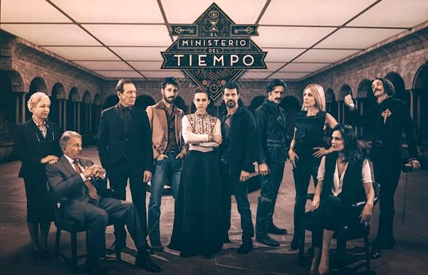 The cast of El Ministerio del Tiempo (The Ministry of Time) – Season 2. Photo from melty.es