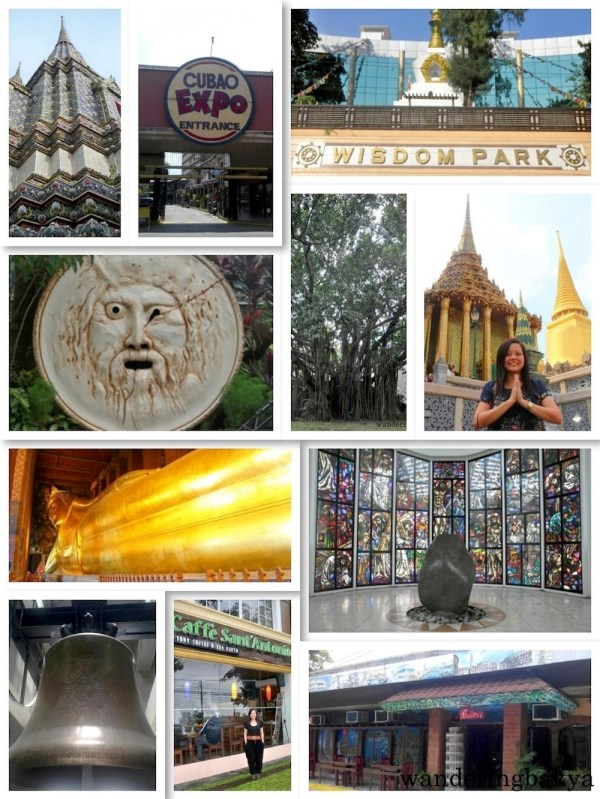 Some of the places featured on wanderingbakya.com this year.