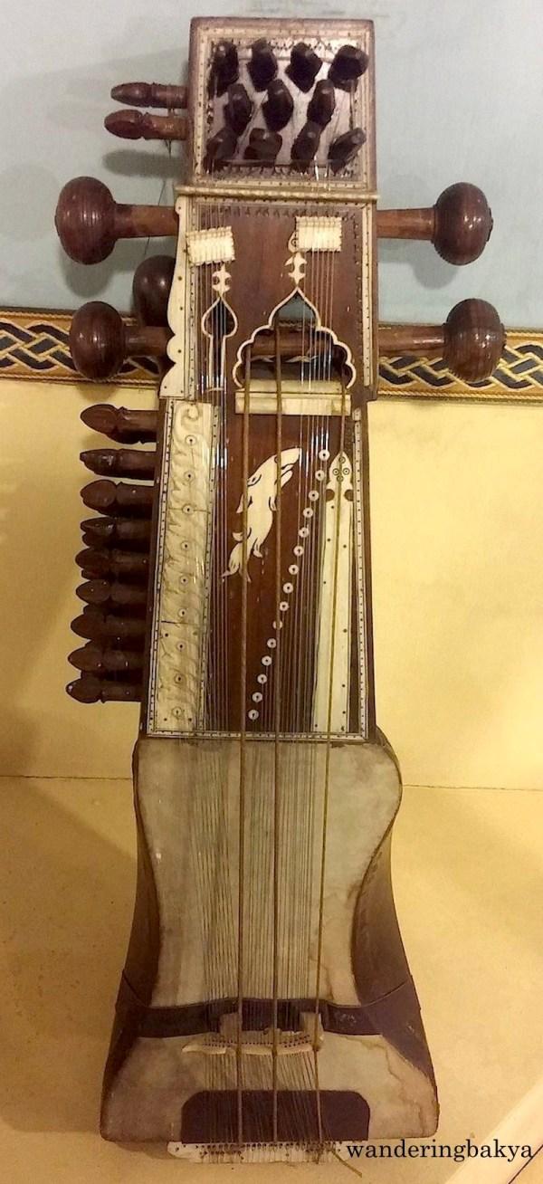 Indian musical instrument sarangi