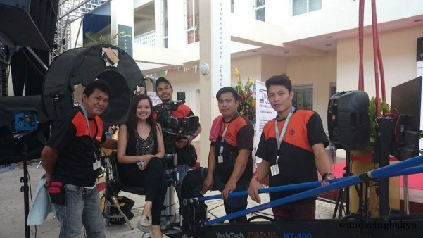 The nice men of CMB Film Service Inc. who let me stay on the crane as long as I wanted. I was the one who gave up. Thank you, guys! ☺ Photo by SPRDC.